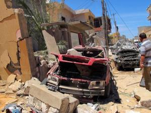 Bombing in Tripoli